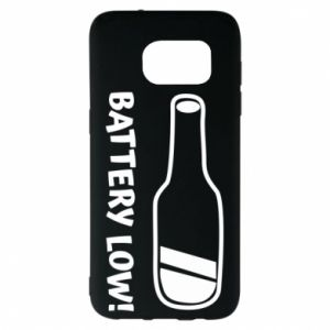 Samsung S7 EDGE Case Battery low