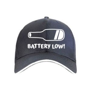 Czapka Battery low