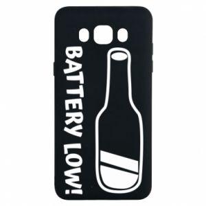 Samsung J7 2016 Case Battery low