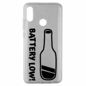 Huawei Honor 10 Lite Case Battery low