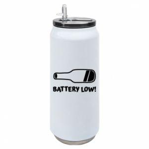 Puszka termiczna Battery low