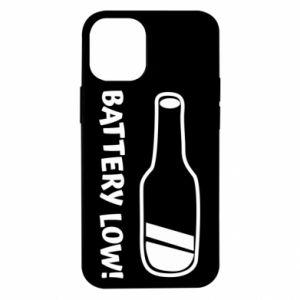 Etui na iPhone 12 Mini Battery low