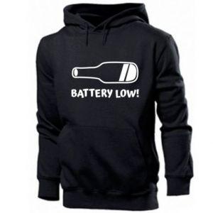 Men's hoodie Battery low
