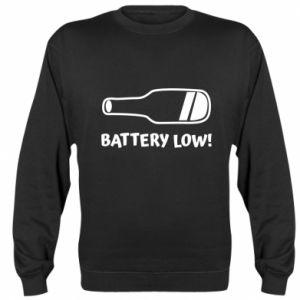 Sweatshirt Battery low