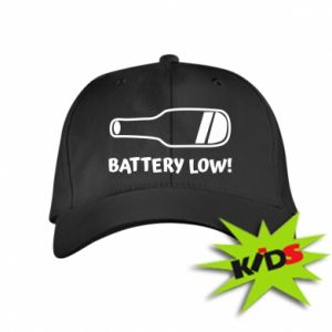 Kids' cap Battery low