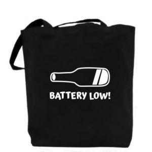 Bag Battery low