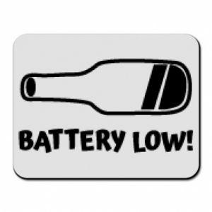 Podkładka pod mysz Battery low