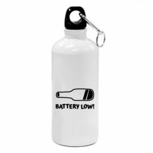 Bidon turystyczny Battery low