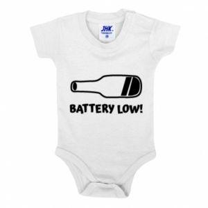 Baby bodysuit Battery low