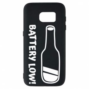 Phone case for Samsung S7 Battery low
