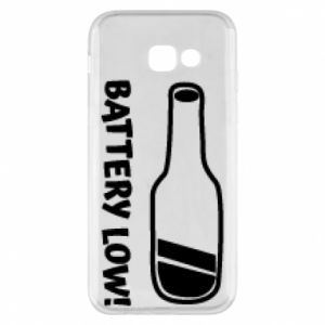 Phone case for Samsung A5 2017 Battery low