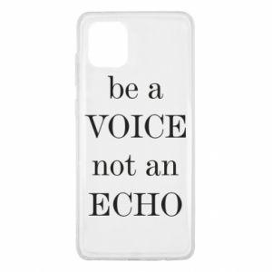 Samsung Note 10 Lite Case Be a voice not an echo