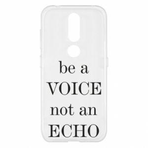 Nokia 4.2 Case Be a voice not an echo