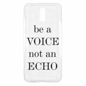 Nokia 2.3 Case Be a voice not an echo