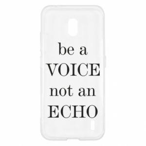 Nokia 2.2 Case Be a voice not an echo