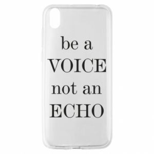 Huawei Y5 2019 Case Be a voice not an echo