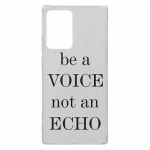 Samsung Note 20 Ultra Case Be a voice not an echo