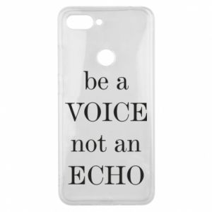 Phone case for Xiaomi Mi8 Lite Be a voice not an echo