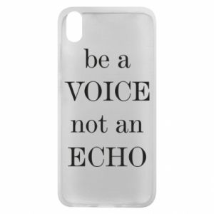 Phone case for Xiaomi Redmi 7A Be a voice not an echo