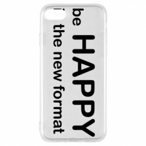 Etui na iPhone 7 Be happy is the new format