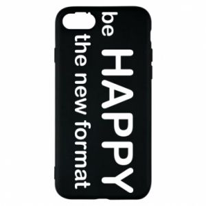 Etui na iPhone 8 Be happy is the new format