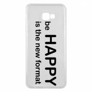 Etui na Samsung J4 Plus 2018 Be happy is the new format