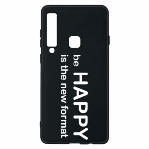 Etui na Samsung A9 2018 Be happy is the new format