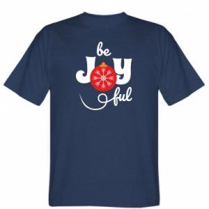 Koszulka męska Be joyful