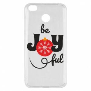 Etui na Xiaomi Redmi 4X Be joyful