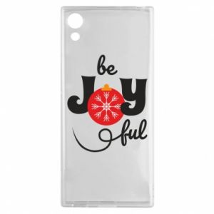 Etui na Sony Xperia XA1 Be joyful