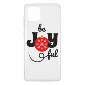 Etui na Samsung Note 10 Lite Be joyful