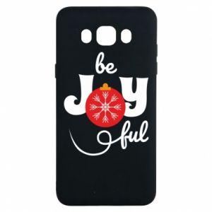 Etui na Samsung J7 2016 Be joyful