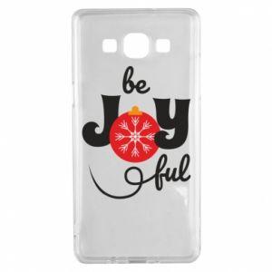 Etui na Samsung A5 2015 Be joyful