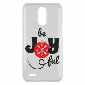 Etui na Lg K10 2017 Be joyful