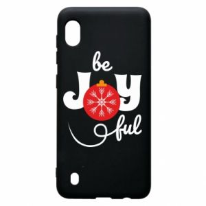 Etui na Samsung A10 Be joyful