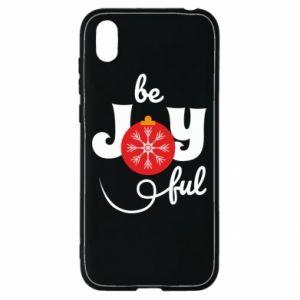 Etui na Huawei Y5 2019 Be joyful