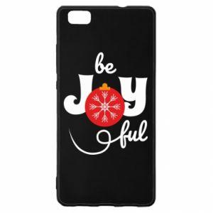 Etui na Huawei P 8 Lite Be joyful