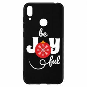 Etui na Huawei Y7 2019 Be joyful