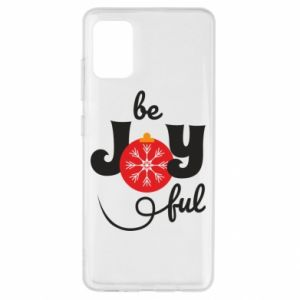 Etui na Samsung A51 Be joyful