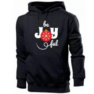 Bluza z kapturem męska Be joyful