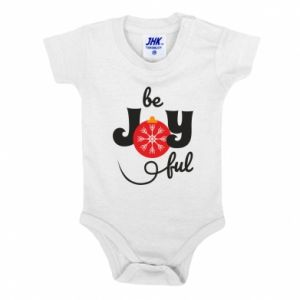 Baby bodysuit Be joyful