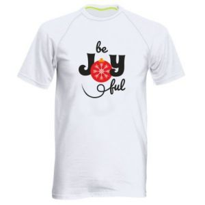 Koszulka sportowa męska Be joyful