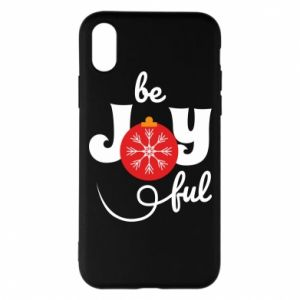 Phone case for iPhone X/Xs Be joyful