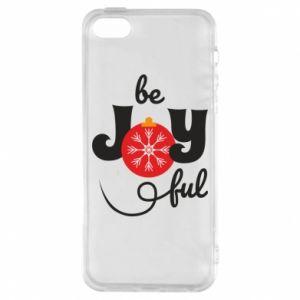 Etui na iPhone 5/5S/SE Be joyful
