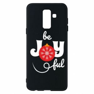 Phone case for Samsung A6+ 2018 Be joyful