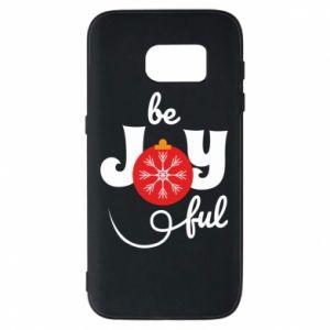 Etui na Samsung S7 Be joyful