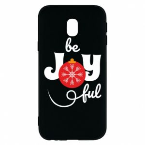 Phone case for Samsung J3 2017 Be joyful