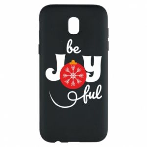 Phone case for Samsung J5 2017 Be joyful