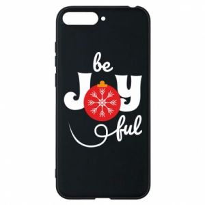 Phone case for Huawei Y6 2018 Be joyful