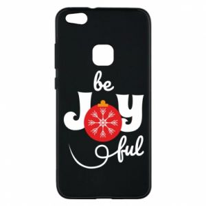 Phone case for Huawei P10 Lite Be joyful